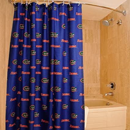 Image Unavailable Not Available For Color Florida Gators Printed Shower Curtain