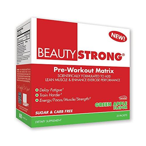 Beauty Fit Eye Wellness Supplement, Strong Green Apple, 25 C