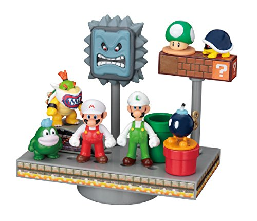 Super Mario World game balance Fire Mario set