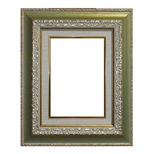 油彩額 HS-1 ゴールドグリーン F8 アクリル1.5mm B01JFYQCOO