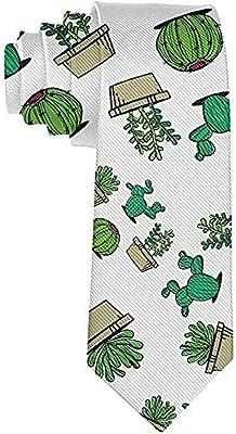 Hombres Suculentos Cactus Plantas En Maceta Amante Corbata Novedad ...