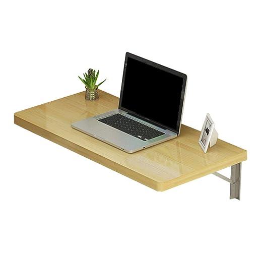 Escritorio de computadora flotante Mesa de pared pequeña para ...
