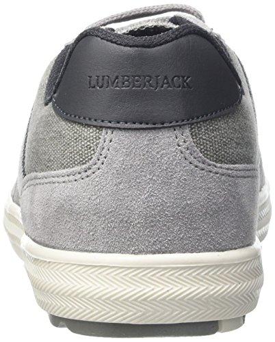Lumberjack Wolf - deportivas bajas Hombre Grigio (Grey/Dk Grey)