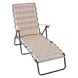 Amazon Com Rio Brands Rio Deluxe Folding Web Chaise