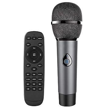 LIUGUANJIANG Computadora móvil micrófono de Karaoke en Vivo ...