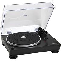 Audio-Technica AT-LP5 - Tocadiscos (Tocadiscos de tracción Directa, Manual, Negro, Aluminio, 33 1/3,45, USB)