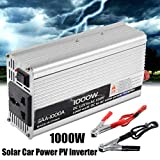 1000W DC 12V to AC 220V Converter Transformer Home Car Solar Power PV Inverter Converter Pure Sine Wave Supply Switch Wind Power