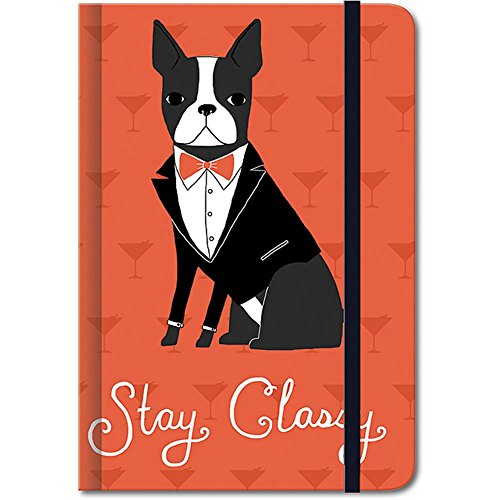 Boston Terrier Stay Classy Journal by Punch Studio