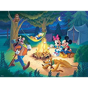 Ceaco Disney Together Time Campfire Jigsaw Puzzle, 400 Pieces