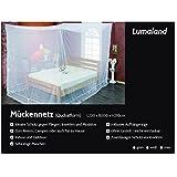 Lumaland Mosquitero outdoor indoor mosquiteros cuadrados para interior y exterior 220x220x210 forma de caja blanco