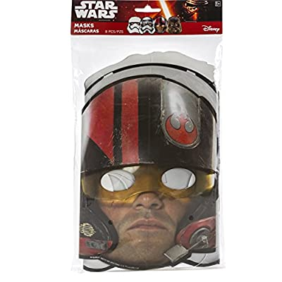 Star Wars Episode VII Masks, 8 Count, Party Supplies Novelty: Toys & Games