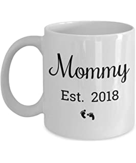 Amazon.com: Daddy Est <b>2018</b> Mug For Expectant <b>Parents</b> and New Dad ...
