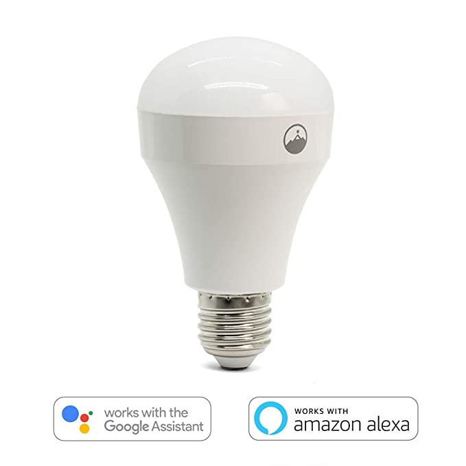 Amazon.com : Fox&Summit FS-LB100 LED Light Bulb, Dimmable, Multi-Color, WiFi Enabled Smart Light Compatible with Alexa and Google Assistant, No Hub Required ...