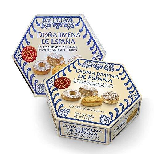 12 x 350g Dona Jimena Spanish Biscuit Assortment