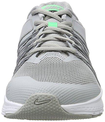 Nike Air Relentless 6 - Zapatillas de Entrenamiento Hombre Gris (Wolf Grey / Electro Green / Black / White)