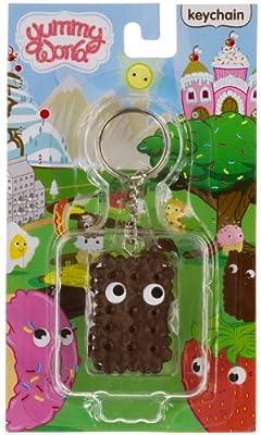"Ice Cream Sandwich ~1.6"" Mini-Figure Keychain: Yummy World Keychain Series"