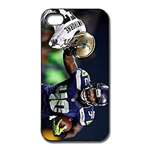 WallM Deaf Seahawks Player Derrick Coleman Wallpaper Case For Iphone 4/4S