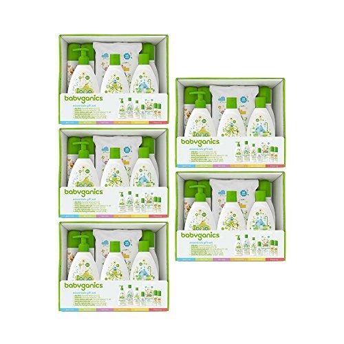 Babyganics Essentials Gift Set (5 Gift Set) by Babyganics Gift