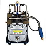 Happybuy 110V 30MPA High Pressure Air Pump Electric PCP Air Compressor for Airgun Rifle PCP Inflator