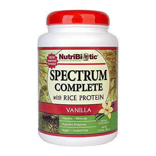 Nutribiotic Rice Protein Full Spectrum, Vanilla, 20 Ounce
