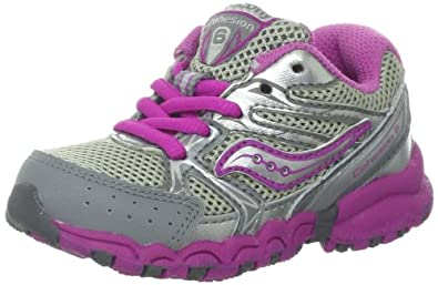 456e9c873825 Saucony Girls Baby Cohesion 6 LTT Running Shoe (Toddler)
