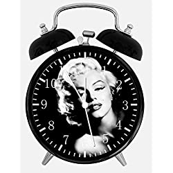 Marilyn Monroe Alarm Desk Clock 4 Home Office Decor Y102 Nice for Gifts