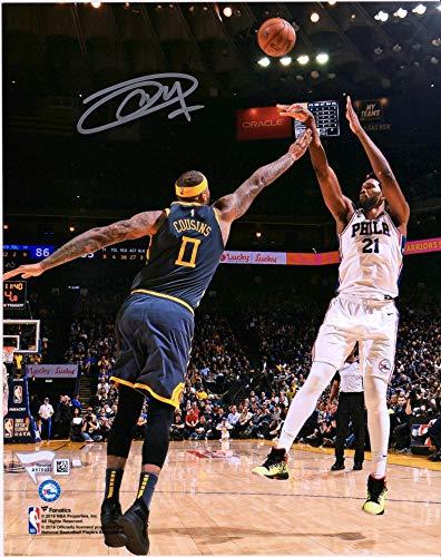 (Joel Embiid Philadelphia 76ers Autographed 8
