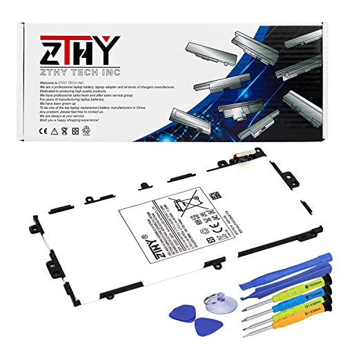 ZTHY New SP3770E1H Tablet PC Battery Replacement for Samsung Galaxy Note 8.0 GT-N5100(3G&Wifi), GT-N5110(Wifi), GN-5120(3G,4G/LTE&Wifi) SGH-I467 SGH-I467ZWAATT with Tools 3.75V 4600mAh