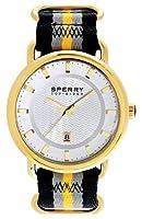Sperry Top-Sider 'Striper' Round Nylon Strap Watch, 45Mm by Sperry Top-Sider