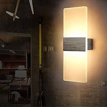 6W LED Wandleuchten Innen Aus Aluminium Kreative Minimalistische Für  Wohnzimmer Schlafzimmer Arbeitszimmer Hotel Flur LED
