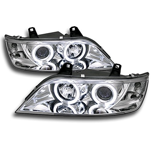 ZMAUTOPARTS BMW Z3 Halo Projector Headlight Lamp ClearM Roadster Coupe 2000 Bmw Z3 Roadster