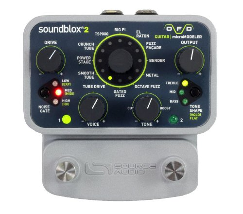Tone Bender Fuzz (Source Audio SA227 Soundblox 2 OFD Guitar microModeler)