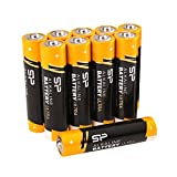 Silicon Power AAA 10 Count Value Pack Ultra Alkaline Batteries (SPAL03ABAT10SV1K)