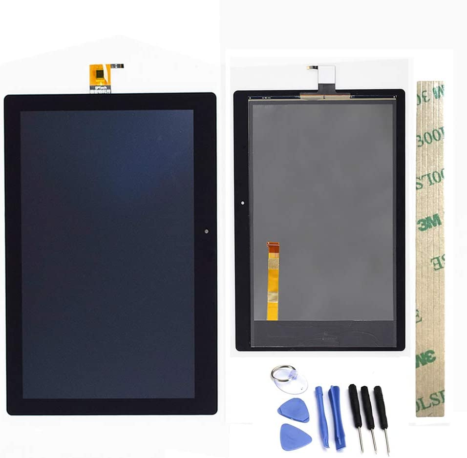 Dr.Chans LCD Display Screen Touch Digitizer Assembly Replacement with Free Tools for Lenovo Tab 3 10 Plus TB-X103F TB-X103 TB X103 Black