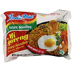 Indomie FRIED NOODLES 100% HALAL Mi Goreng (Pack of 30)