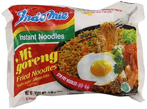 Price comparison product image Indomie FRIED NOODLES 100% HALAL Mi Goreng (Pack of 30)