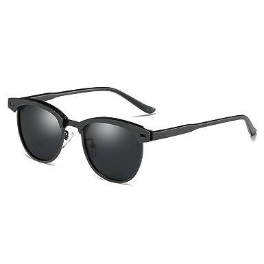 3522ba50d Cyxus Wayfarer Sunglasses, Retro Round Polarized for Women Men UV  Protection for Driving Fishing Riding