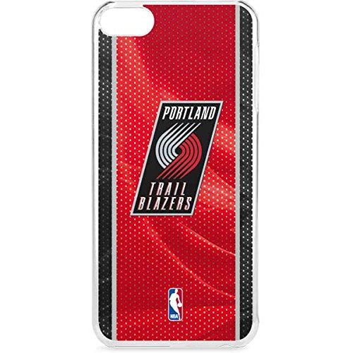 (Skinit NBA Portland Trail Blazers iPod Touch 6th Gen LeNu Case - Portland Trail Blazers Away Jersey Design - Premium Vinyl Decal Phone Cover)
