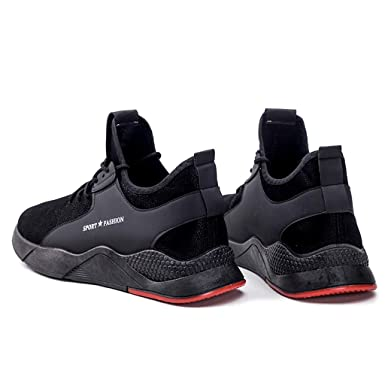 Amazon.com: Sharemen Mens Casual Sports Shoes Hiking Wear-Resistant Breathable Sports Shoes(Black,US:7): Clothing