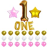 KATCHON 1st Birthday Party Balloon Decoration Kit with Party Planner