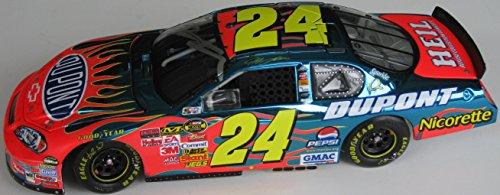 Diecast Driver (Jeff Gordon #24, Nascar Driver, Signed, Autographed, 1/24 Diecast, a COA and the Proof Photos of the Jeff Signing Will Be Included)
