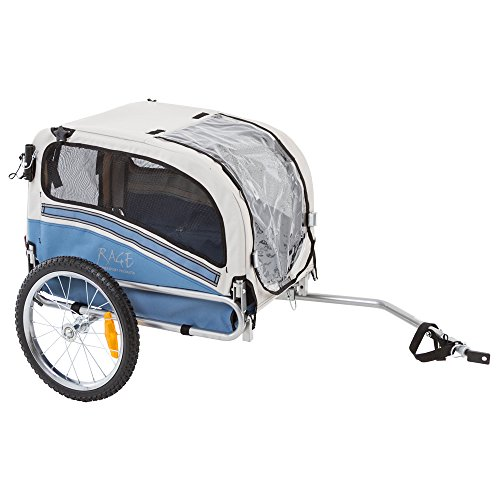 2-in-1 Small Dog Bicycle Trailer and Jogging Stroller by Rage Powersports