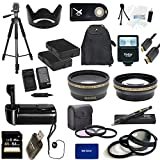 Nikon D3300 USA Ultimate Professional Accessory Bundle Package - EVERYTHING YOU WILL EVER NEED - Includes: 58mm Pro 3 Piece Multi Coated Filter Kit + 58mm Pro .43x Wide Angle Lens + 58mm Pro 2.2x Telephoto Lens + 58mm Close-Up Macro Lens Set + 2x Li-Ion R
