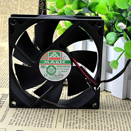for Yongli MGA9212UB-O25 9025 12V 0.54A Two-Wire Cooling Fan