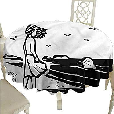 StarsART Multifunctional Table Cover Superhero,Bulldog Superheroes Fun Cartoon Puppies in Disguise Costume Dogs with Masks Print,Multicolor,Round Tablecloth