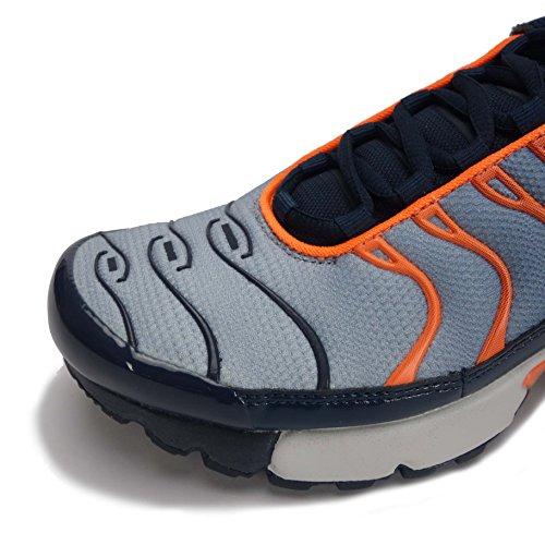 Nike Air Max Plus Tn (gs) Jeunesse Sneaker Armory Navy Pure Platine 408
