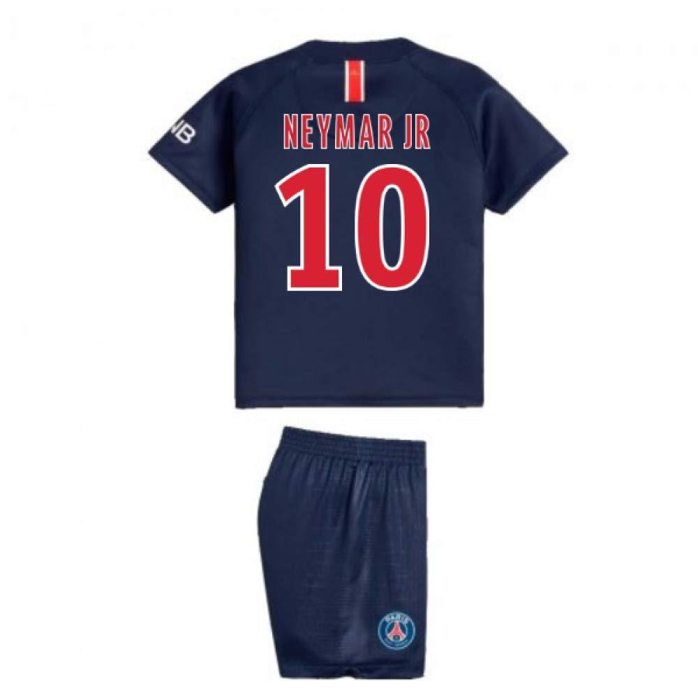 UKSoccershop 2018-2019 PSG Home Nike Baby Kit (Neymar Jr 10)