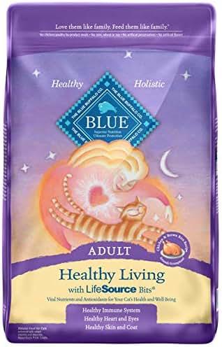 Cat Food: Blue Buffalo Healthy Living