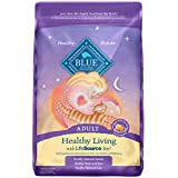 Blue Buffalo Healthy Living Natural Adult Dry Cat Food, Chicken & Brown Rice 15-lb