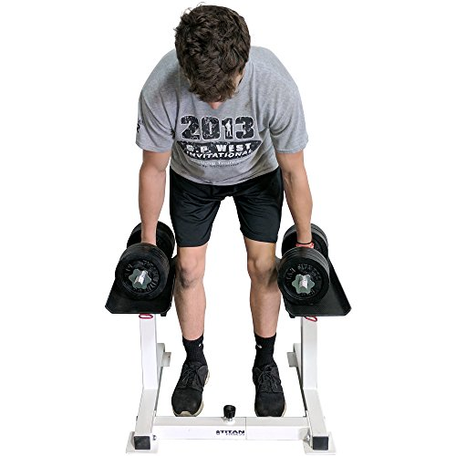 Titan Adjustable Height Dumbbell Holder by Titan Fitness (Image #6)